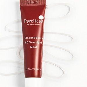 🦋6/$25 Pureheals Ginseng Berry Overnight Mask New